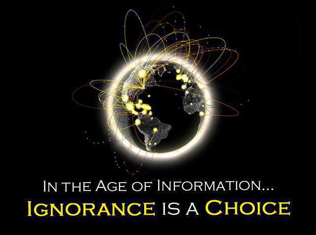 Information and Ignorance